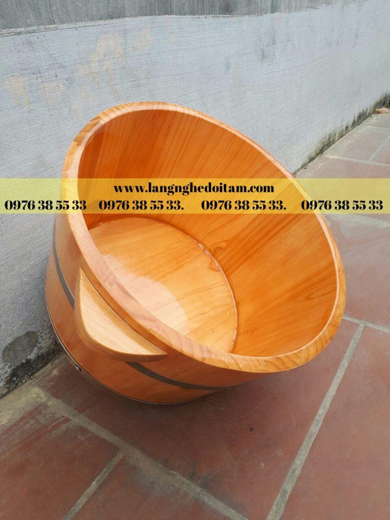 Thùng gỗ ngâm chân cao cấp