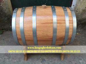 bán thùng đựng rượu gỗ sồi đẹp