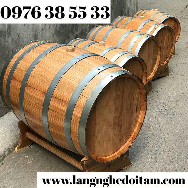 bán thùng ngâm ủ rượu trắng giá rẻ chất lượng cao