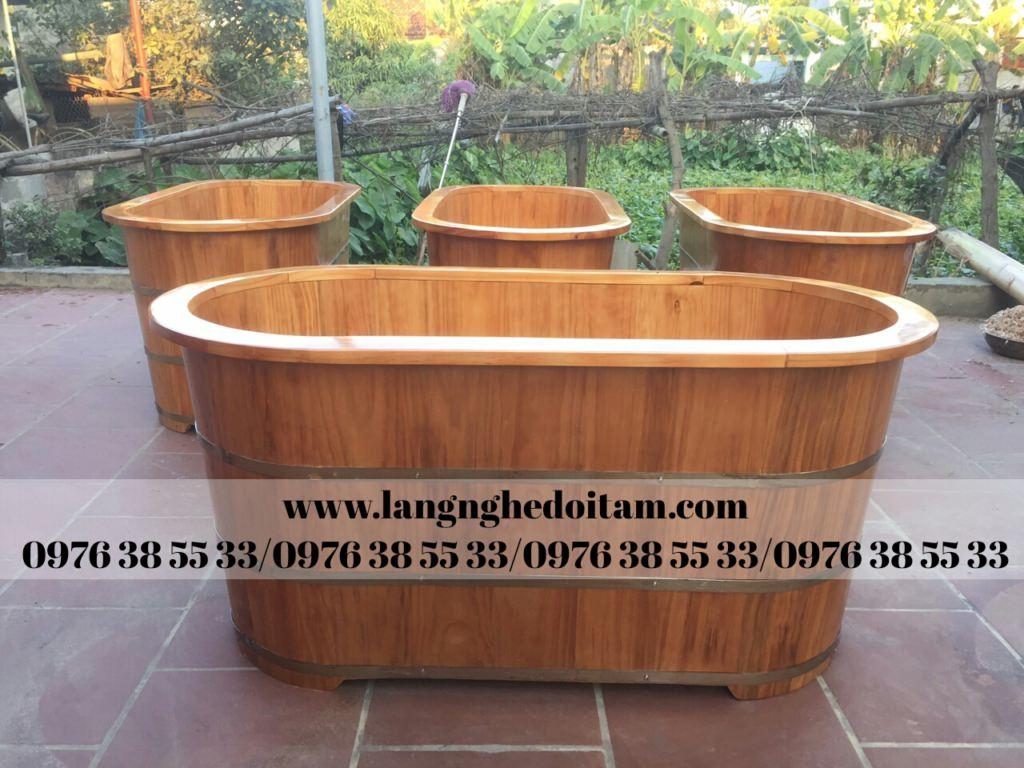 bồn tắm gỗ chuyên phục vụ Spa và Resort