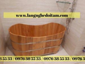 bán bồn tắm gỗ giá rẻ hà nội