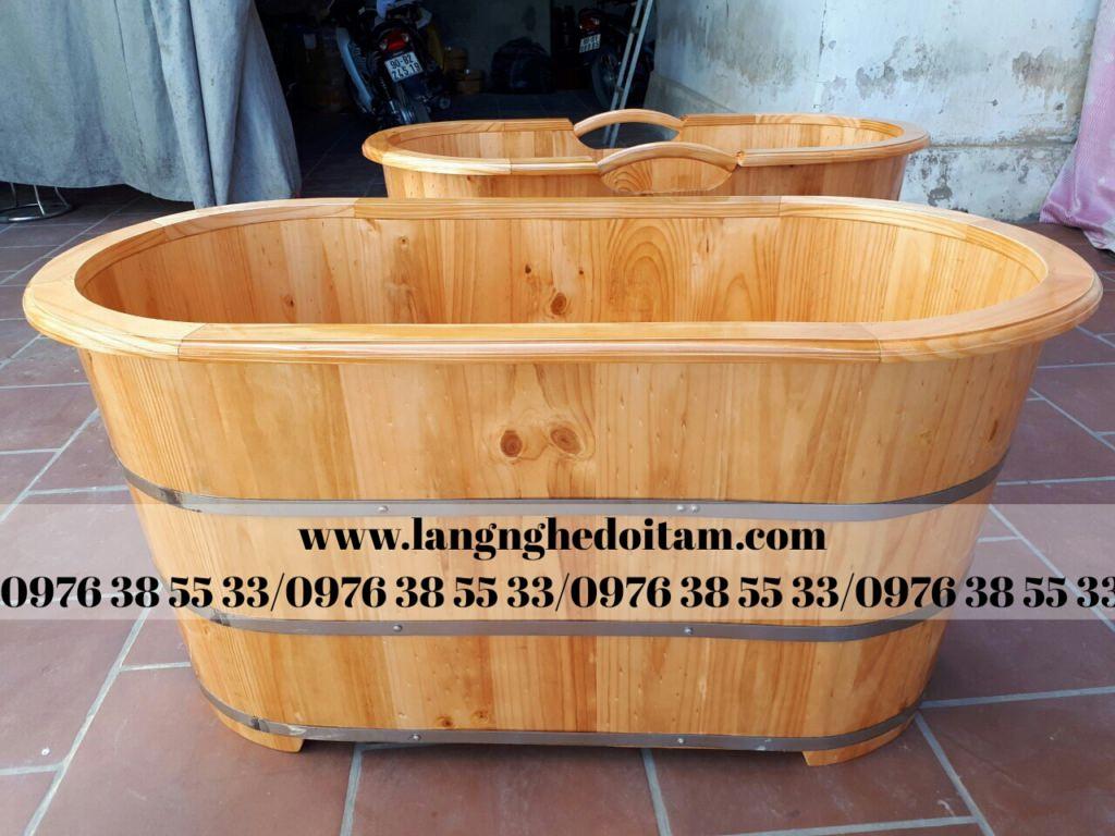 Cơ sở chuyên cung cấp bồn tắm gỗ thảo dược