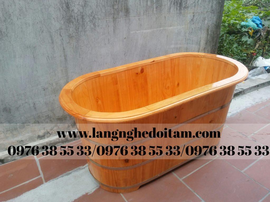 bán bồn tắm gỗ ngâm thảo dược cao cấp