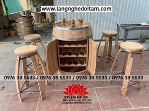 Đơn vị chuyên cung cấp bàn ghế gỗ trang trí cho quán bar nhà hàng