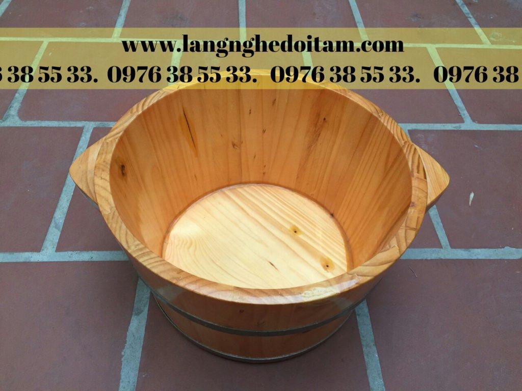 Chuyên phân phối chậu gỗ ngâm chân giá tốt nhất trên thị trường