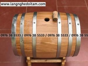 Mua thùng gỗ đựng rượu tại tohcm