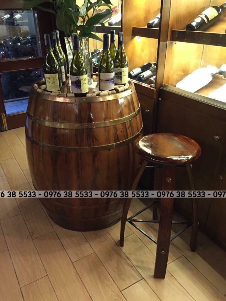 Nhận đóng thùng gỗ trang trí cho nhà hàng