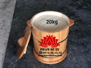 Thùng đựng gạo bằng gỗ 20kg