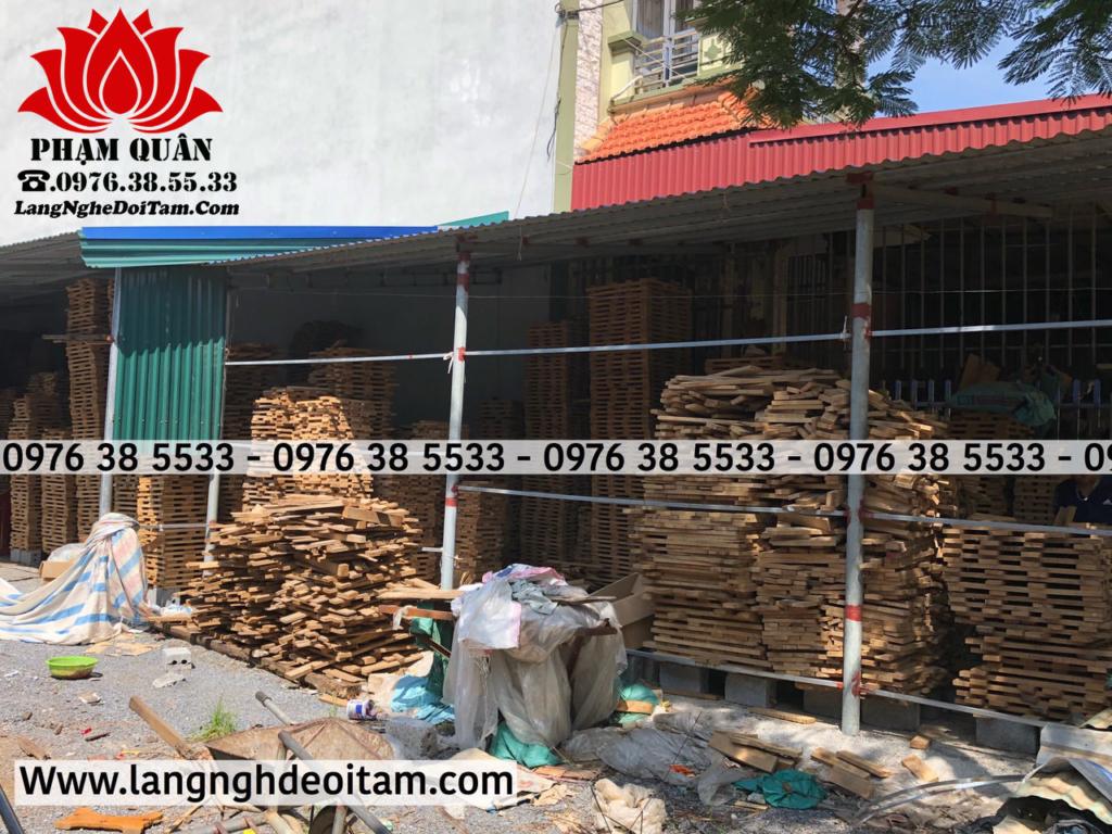 Quy trình phơi hong gió gỗ sồi nhập khẩu từ 12 đến 18 tháng