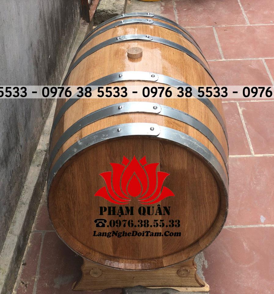 Thùng rượu Phạm Quân cung cấp ra toàn thị trường, cam kết chất lượng số 1