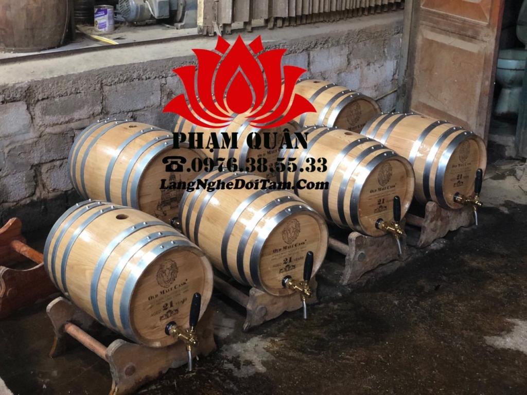Hoàn thành lô thùng 20l cho quý khách trên Yên Phong Bắc Ninh, kèm vòi crom và khắc mặt