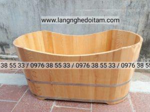 Bồn tắm gỗ sồi chuyên phân phối Spa,Resort