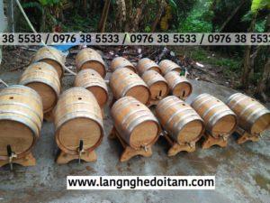 Chuyên phân phối thùng gỗ sồi đựng rượu nhập khẩu