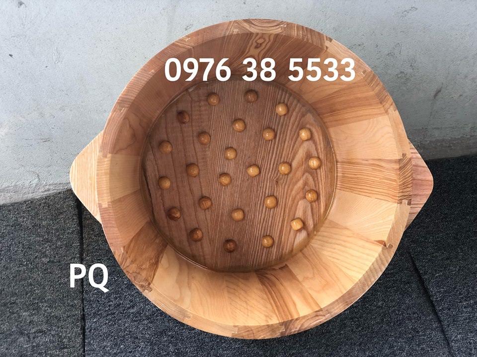 Mua chậu gỗ ngâm chân gỗ sồi tại Đã Nẵng