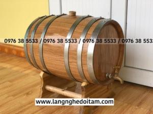 Mua thùng gỗ sồi ngâm ủ rượu tại Hà Nọi,Đà Nẵng và TP HCM