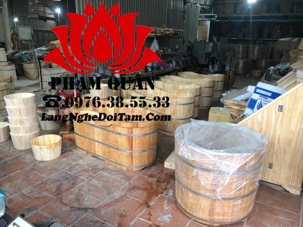 Xưởng sx bồn tắm gỗ Phạm Quân nhận đặt sx theo yêu cầu quý khách