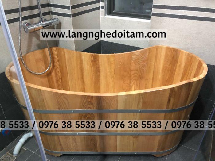 Mua bồn tắm gỗ sồi nhập khẩu Nga