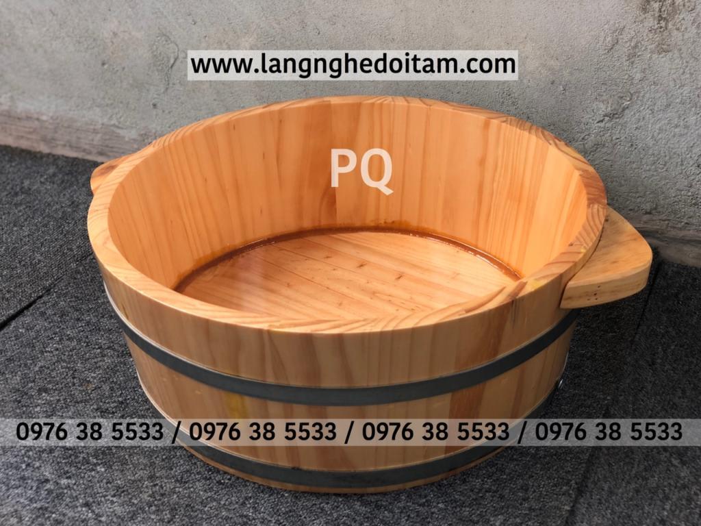 Bán chậu gỗ ngâm tay tại tp hcm