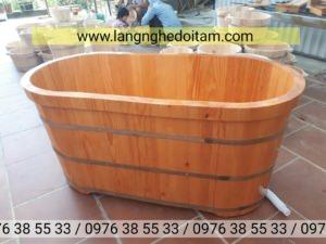 Mua bồn tắm gỗ thông tại đà nẵng