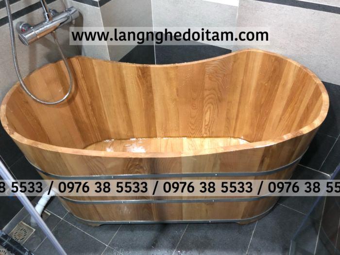 Mua bồn tắm gỗ sồi ở đà nẵng