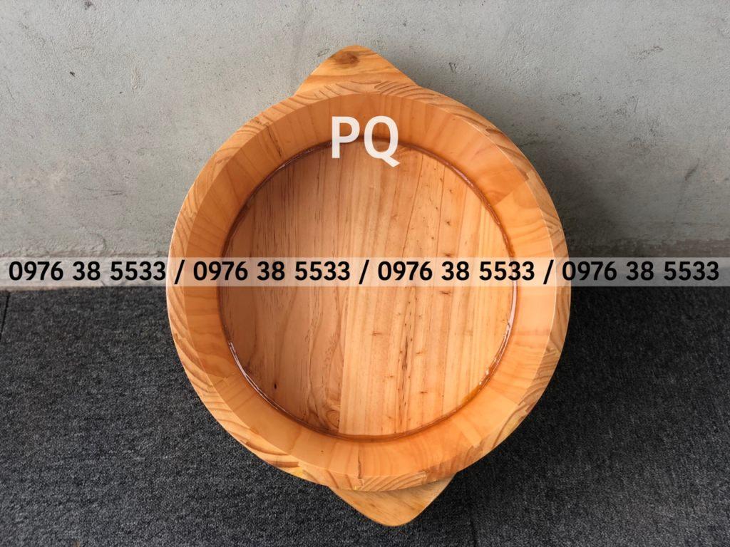 Bán chậu gỗ ngâm tay làm Nail ở Hà Nội