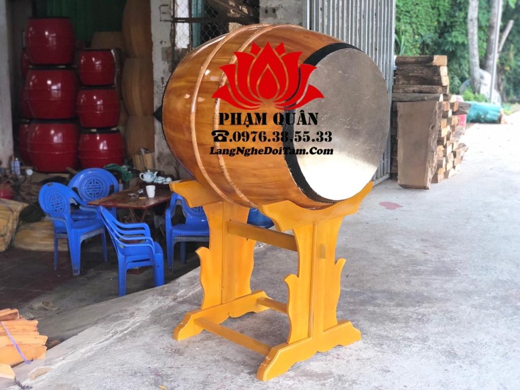 Trống gỗ lói mít