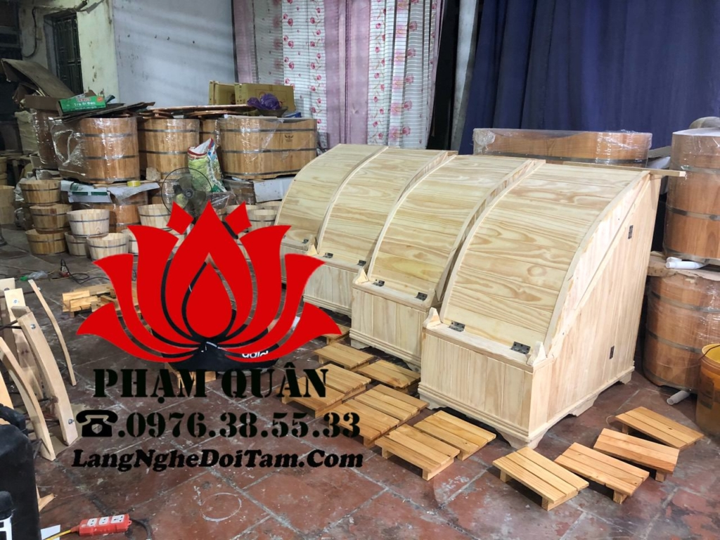 Bán phòng xông hơi bằng gỗ thông nhập