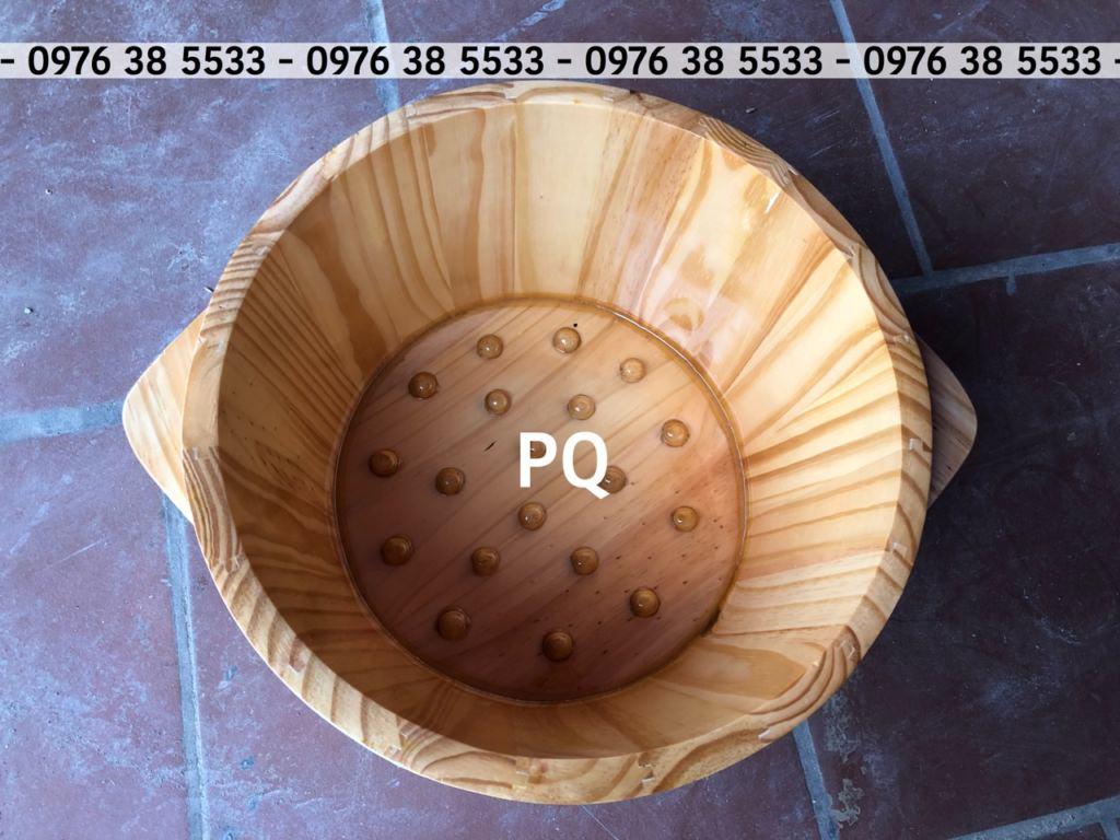 Mua thùng ngâm chân bằng gỗ tại Đà Nẵng và Hà Nội