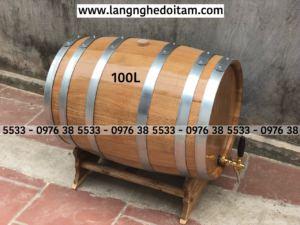 Bán thùng rượu gỗ sồi tại Hà Nội