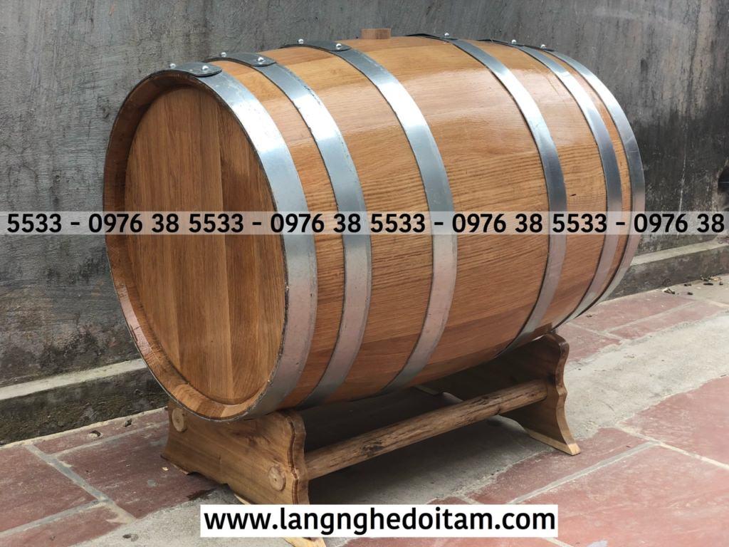 Mua bom đựng rượu bằng gỗ sồi tại Đà Nẵng