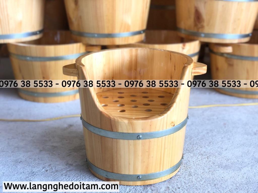 Quý khách hàng có thể mua riêng thùng gỗ, ko cần mua máy xông kèm theo