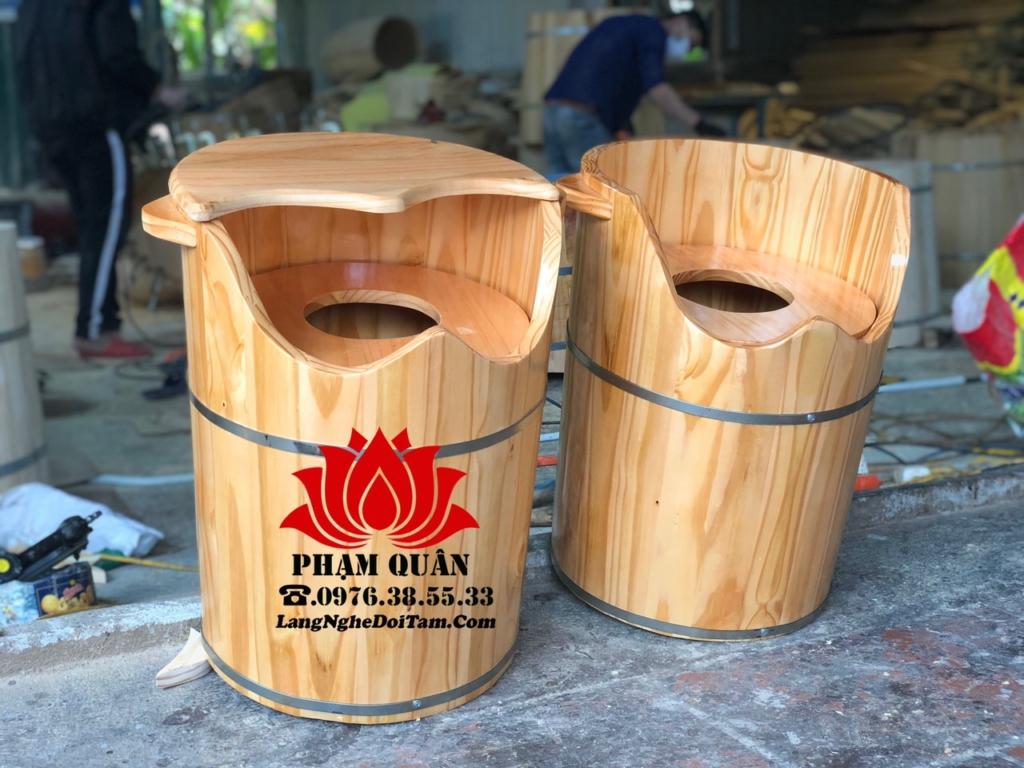 Thùng gỗ xông phụ khoa