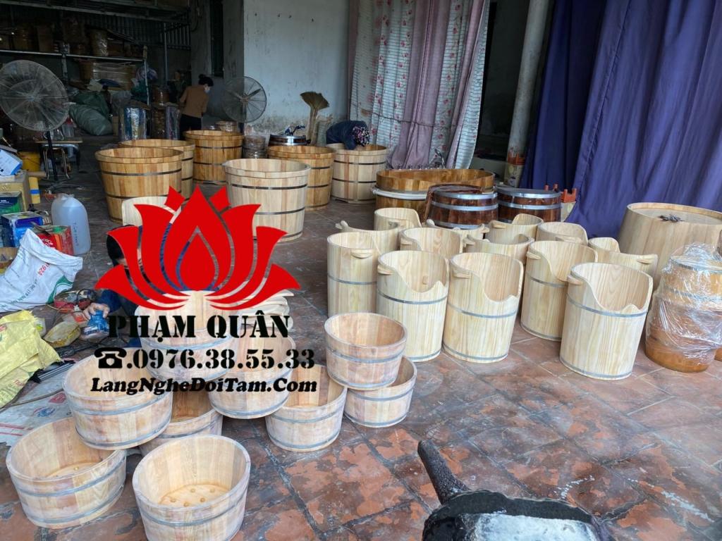 Xưởng sx thùng gỗ Phạm Quân