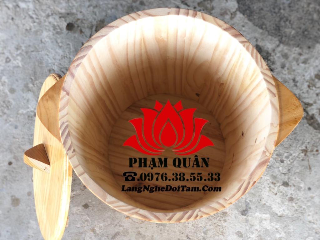 Cssx thùng gỗ đựng gạo