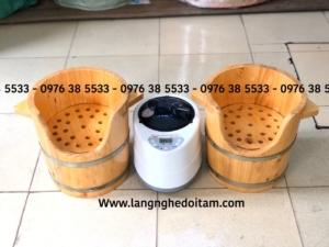 Bán thùng gỗ xông đầu dưỡng sinh