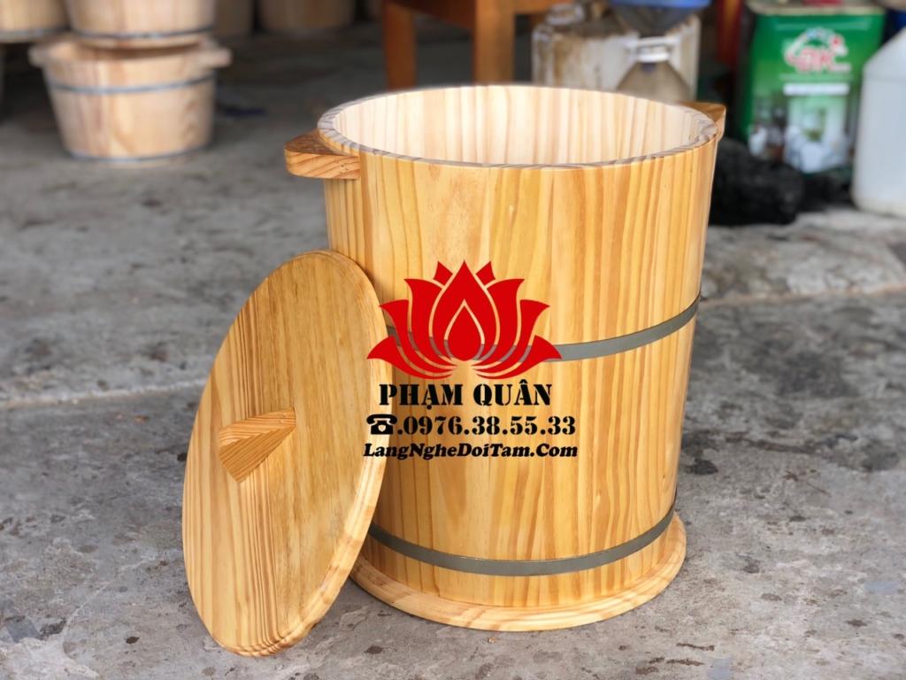 mua thùng gỗ đựng gạo