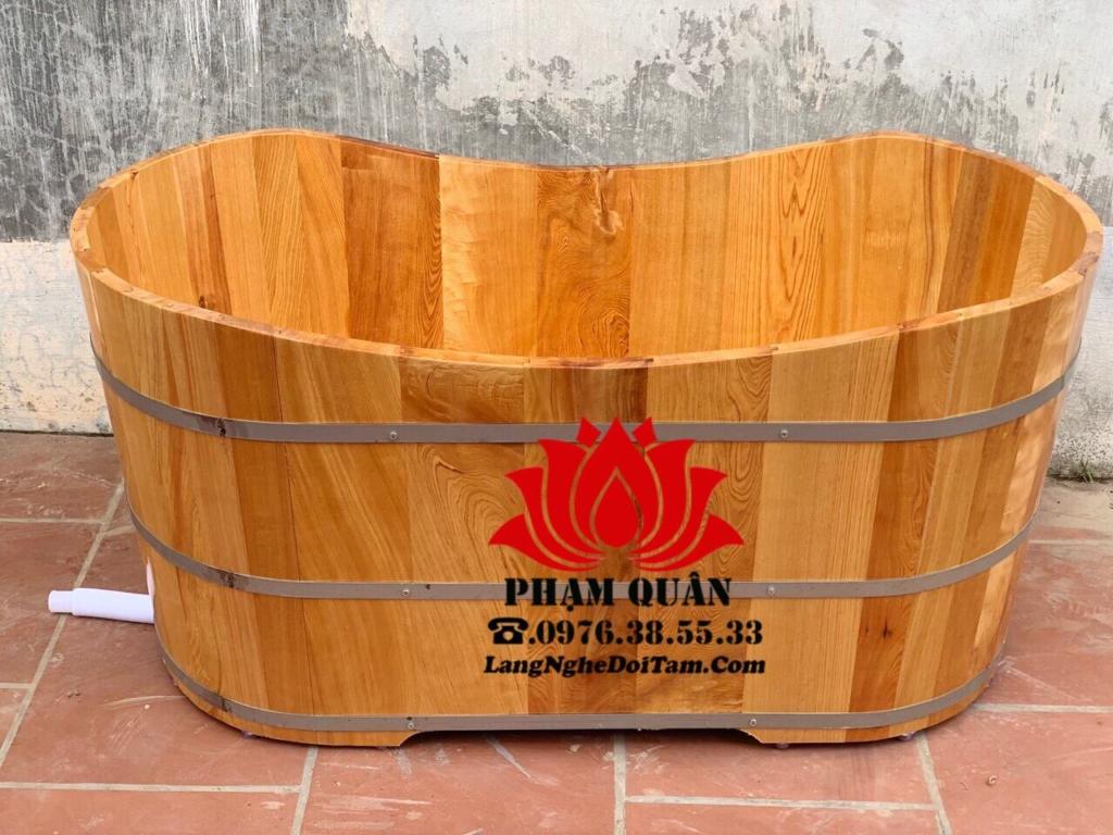 Bồn tắm gỗ Pomu được cơ sở bảo hành lên đến 24 tháng