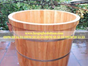 bán bồn tắm gỗ thông nhập khẩu