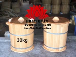 Thùng đựng gạo 30kg