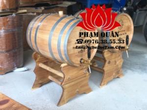 Mua thùng rươu gỗ sồi 50l