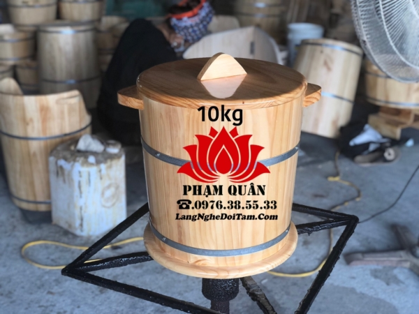 thung go dung gao 10kg