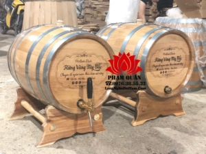 Mua bom rượu gỗ sồi